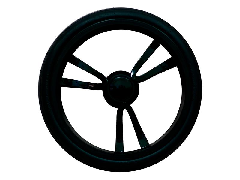 """Колесо для коляски 12"""" Bebetto №34 (низкопрофильное, вспененная резина)"""