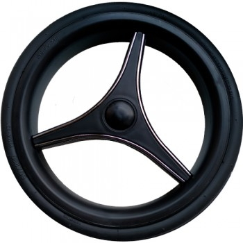 """Колесо для коляски 12"""" Bebetto №42 (низкопрофильное, вспененная резина)"""